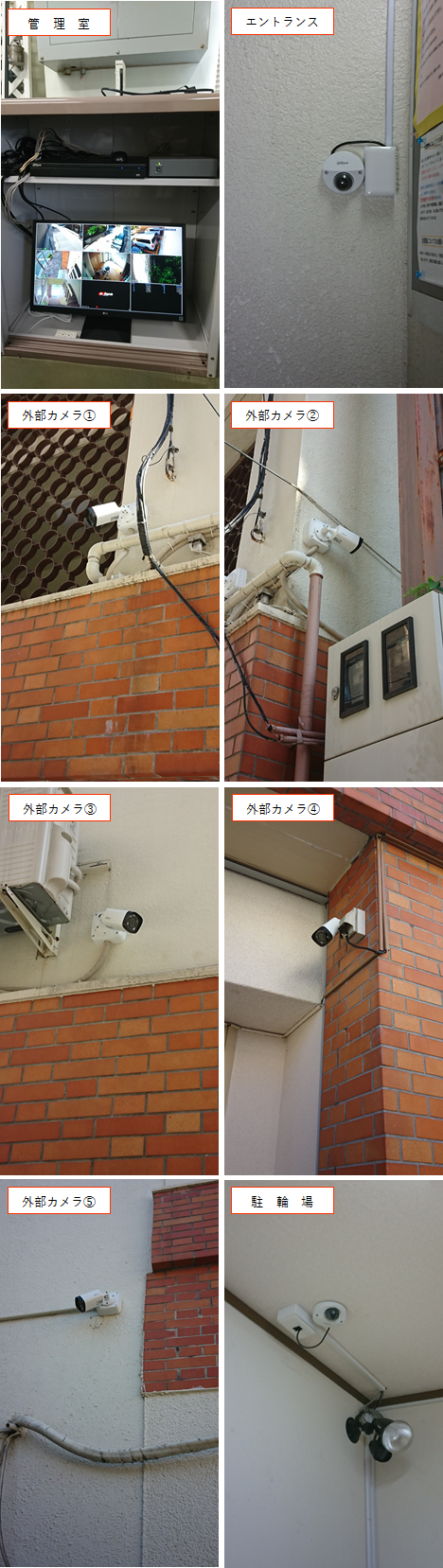 大建ビル・防犯カメラシステム